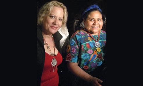 + Rigoberta Menchú